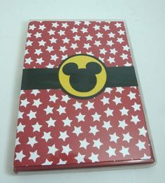 DVD case with notepad - autograph pad for Disney characters when on vacation?