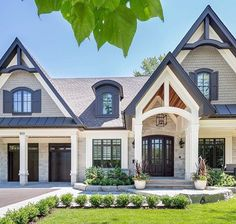 A Collection Of Exterior Designs Featuring 16 Eye Catching Transitional  Home Designs That Will Make Your Jaw Drop   Part Enjoy!