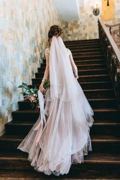 wedding veil фата невесты