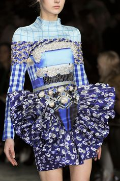 Mary Katrantzou at London Fashion Week Fall 2012 - StyleBistro