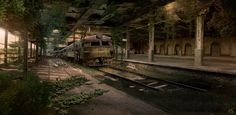 Abandoned Train Station 2 by Nacho3.deviantart.com on @deviantART