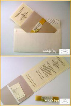 Golden wedding invatation: https://www.facebook.com/pages/Kiek-kitaip-Accessories/452529568146092