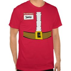 Name Tag Santa Suit Belly Top Customize Me! :) http://www.zazzle.com/name_tag_santa_suit_belly_top_customize_me_tshirt-235521421800144126?color=red&size=a_xxxl&style=basic_tshirt_light&view=113158993915508071&rf=238020180027550641