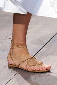 Michael Kors sandal, $350, shopBAZAAR.com.   - HarpersBAZAAR.com