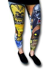 Star Wars Kawaii Womens Leggings