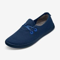 Men's Tree Skippers - Kauri Marine Blue (Dark/Navy Blue) | Allbirds Large Womens Shoes, Marine Blue, Dark Navy Blue, Keds, Boat Shoes, Classic Style, Lace Up, Sneakers, Casual