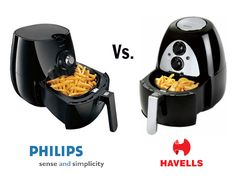 Philips air fryer and Havells air fryer comparison. Find out which is the best air fryer.