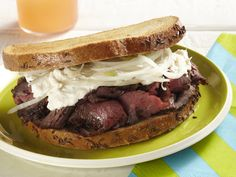 Baltimore Pit Beef Sandwhich, a classic diner favorite that even Eddie from DINER would love! #SigDiner