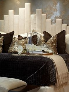 headboard from foam board | Headboard- cover planks with foam and fabric. A summer project, I ...