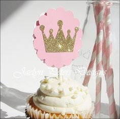 Princess Or Prince Cupcake Toppers