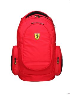 Plecak Ferrari Sport Backpack - Red | FERRARI ACCESSORIES | Fbutik | Scuderia Ferrari Collection