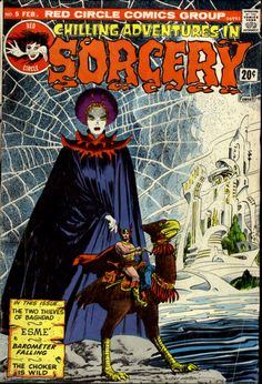 Chilling Adventures in Sorcery #5, February 1974. Archie Comics. Cover art by Gray Morrow.