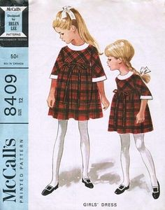 McCall's 8409 by Helen Lee © 1966.