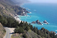 One of the prettiest drives I have ever been on is taking Highway 1 from San Luis Obispo to the Oregon border. Breathtaking views, a must see!