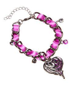 Loving this Disney Descendants Charm Bracelet on #zulily! #zulilyfinds