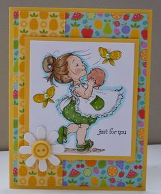 just for you card by Cheryl Moody
