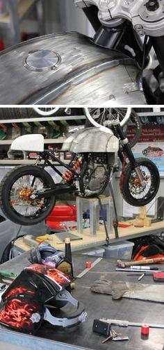 The Bullitt: How to build your own custom KTM cafe racer