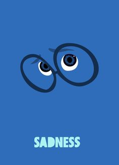 My minimal impression of sadness from Disney's Inside Out | http://cubedmedia.deviantart.com/art/Inside-Out-of-Sadness-554488590?ga_submit_new=10%253A1440122198&ga_type=edit&ga_changes=1