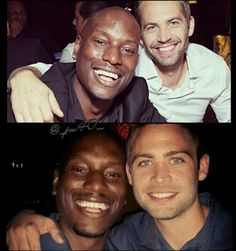 Paul and Tyrese n Cody and Tyrese. Wow how much Cody looks like Paul