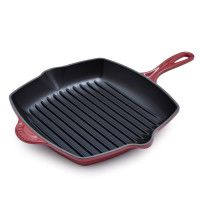 Le Creuset® Burgundy Square Grill Pan - From The Home Decor Discovery Community at www.DecoandBloom.com