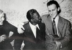 Boris Vian with legendary trumpet player Miles Davis. Vian served as liaison for Davis, Hoagy Carmichael, Duke Ellington in Paris and was highly influential on the French jazz scene. Miles Davis, Hoagy Carmichael, Boris Vian, Duke Ellington, Bagdad, Before Midnight, Charming Man, Walter White, Portraits