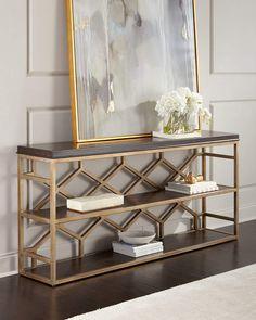 Hooker Furniture Garvey Console Table