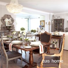 'n Franse toevlugsoord in die Boland Decor, Home And Garden, Room, Interior, French Country Decorating, Home, Table Settings, House Styles, Interior Design