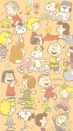 The Peanuts wallpaper Iphone Wallpaper Vsco, Cartoon Wallpaper Iphone, Iphone Background Wallpaper, Cute Disney Wallpaper, Kawaii Wallpaper, Trendy Wallpaper, Cute Cartoon Wallpapers, Wallpaper Wallpapers, Snoopy Wallpaper