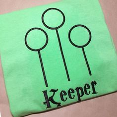 Looking for your next project? You're going to love Harry Potter Quidditch Keeper Design by designer DesignedByGeeks.