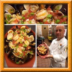 All seafood plate over linguini- Mariscada- best food ever Portuguese Sausage, Portuguese Recipes, Best Food Ever, Mediterranean Recipes, Clams, Kung Pao Chicken, Seafood, Restaurant, Ethnic Recipes