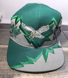 Vintage Philadelphia Eagles Snapback Hat on Mercari Philadelphia Eagles Hats, New Era 59fifty, Snapback Hats, Nhl, Riding Helmets, Nike Shoes, Baseball Hats, Coconut, Vintage