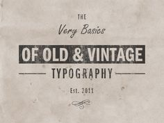 Groovy Examples of Vintange Retro Typography / Design Tickle Vintage Fonts, Vintage Typography, Typography Letters, Graphic Design Typography, Graphics Vintage, Vintage Type, Vector Graphics, Script Cursif, Cursive Fonts