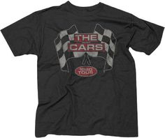 Vintage concert t-shirts from The Cars are here at Rocker Rags! Click now to find tees from the classic new wave band's 1980 Tour. Free Shipping!