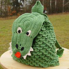 Bagan, Crochet Hats, Beanie, Handmade, Crocodiles, Slipcovers, Bags, Purse, Hands
