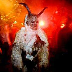 World's Strangest Holiday Traditions. Bizarre how many involve the devil, bad santa, spiders, etc! (www.travelandleisure.com).