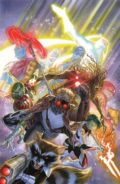 Guardians Of The Galaxy -Alex Ross