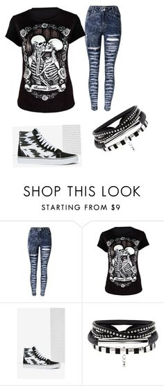 """""""Bad Girl's Day"""" by ximenaalboranista on Polyvore featuring Vans"""