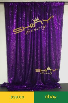 ON SALE Sequin backdrops,Purple Sequin photo booth backdrop, Party , Mother In Law Birthday, Sequin Backdrop, Photo Booth Backdrop, Wedding Fabric, Backdrops For Parties, Home And Garden, Decorations, Purple, Party