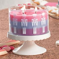 Just Desserts™ by PartyLite 3-Wick Jar Candle Stand