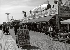 Coney Island boardwalk a crazy place to see. Have to get the original Nathans coney dog there.