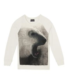 "The Kooples Sweat print ""White Bear"""