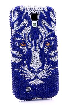 Blue Tiger Design Unique Samsung Galaxy s4 Cases other country phone cover cool style for girls