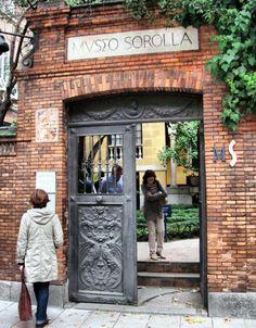 Museo Sorolla. Entrada jardín. Madrid España