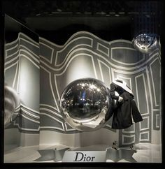 Dior at Saks Fifth Avenue New York for NYC Fashion Week, pinned by Ton van der Veer
