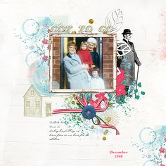 Got to go (Honey I'm Home collection from Lynn Grieveson at The Lilypad) #digitalscrapbooking