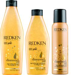 REDKEN Diamond Oil shampoo and conditioner