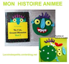 Image du Blog lecoindespetits.centerblog.net Ed Emberley, Album Jeunesse, Animation, Halloween, Books, Support, Children, Couture, School