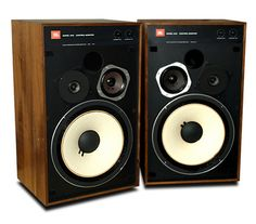 Yeah baby, the JBL 4312 Control Monitor--listen to your vinyl on the speakers the engineers used to mix it.