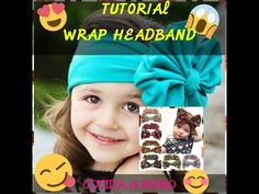 BANDITA DE TELA CON LAZO JUMBO Paso a Paso JUMBO BOW HEADBAND Tutorial DIY How To PAP - YouTube