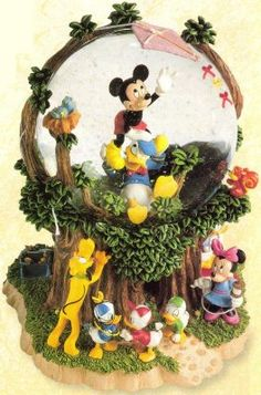 Disney Snowglobes Collectors Guide: Fab 5 Day in the Park